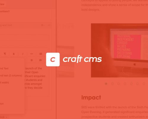 Why Craft CMS is now our first choice